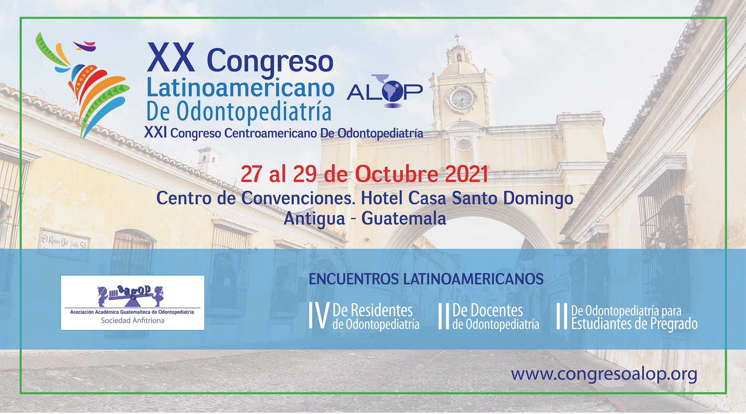 XX Congreso Latinoamericano e Odontopediatría